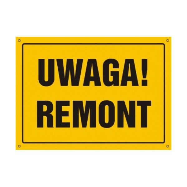 Uwaga Remont